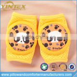 Cute panada printed unisex baby & kids knee pads for crawling safety protector