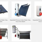 Separated Pressure Solar Water Heater