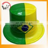 Brazil world cup 2014 pvc top hat