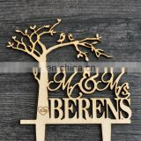 personalized surname cake topper, rustic wedding cake topper,tree cake topper,custom cake topper, wedding decoration