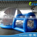 clear inflatable christmas house tent for advertising