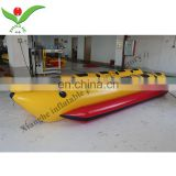 Hot selling inflatable Banana water boat kids water boats for sale