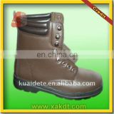 2014 popular cow grain leather safety boot with CE