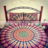 Indian Duvet Cover COR Mandala Quilt Covers Throw Doona Cover With Pillow Covers