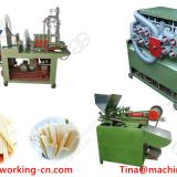 Low price and high effiency wooden toothpick making machine in China