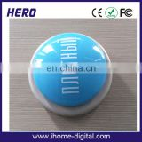 promotional attractive electronic monkey toy sound button heartbeat recorder manufacturer