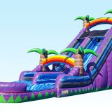 Inflatable slip and slide inflatable water slide axs-16