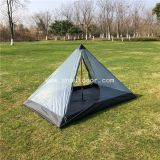 Summer Camping Tents, Lightweight Backpacking Tent For 2 Person,  Mosquito Net