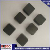 solid brazing CBN inserts for S55CR steel hardened
