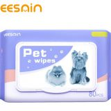 Antibacterial Mascotas Pet Cleaning Wet Wipes for Dog