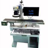 LJK 10W 20W 30W 50W Visual Fiber Laser Marking Machine for Metal / Silver / Gold / Stainless Steel