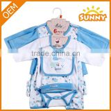 Wholesale OEM Lovely New Born Baby Clothing Set