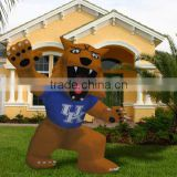 2016 Good quality inflatable lion mascot for sell