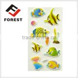 Paper cute cartoon sticker for kids printing, foam glitter letter stickers                                                                         Quality Choice