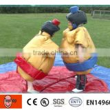 PVC tarpaulin No Toxicity inflatable sumo wrestling suits , inflatable sumo suits
