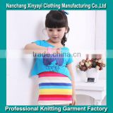 Wholesale the Children Long Frockes Designs/Last Children Frocks Designs in Yarn Dyed Fabric/Chirldren Clothing Set
