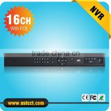 Full HD 1080P CCTV NVR 16CH NVR wih 8ch POE For IP Camera ONVIF H.264 HDMI Network Video Recorder 16 Channel NVR with 8CH POE                                                                         Quality Choice