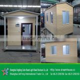 Latest design luxury one room modular homes, granny flat australia standrad/prefab kit homes for europe