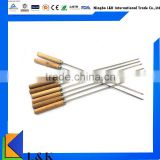 wooden handle bbq stick /metal barbecue skewer                                                                         Quality Choice
