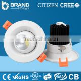 Manfacturer Simple design cob led downlight 35w led recessed down light dimmable led downlight