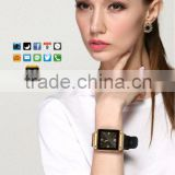 PW305 latest smart watch, Nano screen, sync Call,Massage,contacts,Apps push,weather,Vibrate,Bluetooth speaker,fashion lady watch