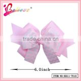 Hair jewellery wholesale giant ribbon bow,wave bow tie clip hair accessories