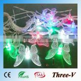 Butterfly LED Xmas lights holiday home window ceiling tree decoration string light 5M/10M 220V/110V
