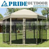 Outdoor High Quality Hex Folding Colorful Gazebo Tents For Sale Roof Material Gazebo Tent