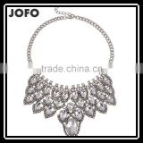 Splendid Womens Bib Statement Luxury Rhinestone Necklace For A Classic But Elegant Design
