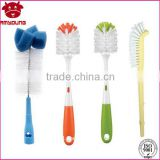 Safted material Bottle Cleaning brush Manufacturer milk bottle cleaner water bottle cleaning brush with sponge
