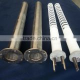 Industrial ceramic tube heater Electric heating element for stove/oven/furnace/kiln/tank