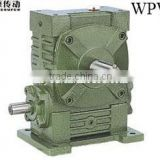 Wpwa dc motor cast iron housing worm gearbox,small transmission gearbox,electric motor gearbox