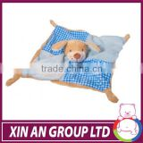 AD58/ASTM/ICTI/SEDEX wholesale stuffed animal baby security baby blanket