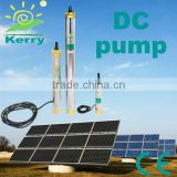 vertical multistage solar energy hot water circulation pump with copper outlet
