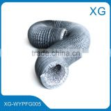 PVC flexible air ducting/plastic venting hose/PVC Flexible ventilation duct/flexible heat resistant air duct hose