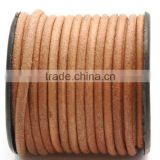 Round Leather Cord wholesale, jewelry leather necklace cord, jewelry cord lace for bracelet
