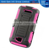 [GGIT] Hybrid Robot Kickstand Silicone Plastic Multiple Colors Case for Alcatel one touch pop C7