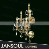 custom made antique brass indian style traditional classic wall sconce flush mounted crystal chandelier