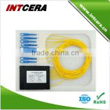 fiber optic FTTH 0.9mm 1 8 optical PLC Splitter