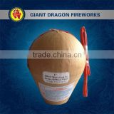 "Chinese Firecrackers For Sale 1.3G UN0335 Display Fireworks 6"" Inch Shell"