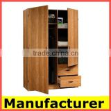wholesale 2015 cheap modern melamine wooden bedroom wardrobe design                                                                         Quality Choice