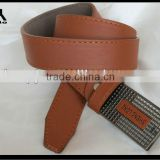 classic brown used leather belt for indian