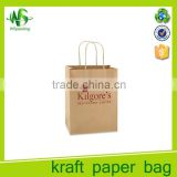Hot sale costom printing shopping craft bag for apparel