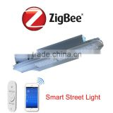 Intelligent system managerment smart zigbee street led lighting 50W 100W 150W