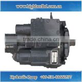 China factory direct sales long working life hydraulic oil pump for harvester field