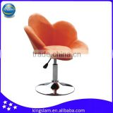 KBS0005FA Comfortable fabric leisure swivel bar stool/bar chair
