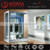 Y847 enclosed steam shower room/sauna and steam combined room/ozonator steam shower room