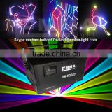4w RGYP Laser Light Disco DJ Pro Party Stage Club Lazer Beam Show System wireless DMX laser projector