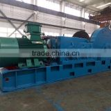16 ton electric cable pulling winch machine