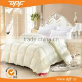 Wholesaler china beige color cotton filled duvet for king size bed